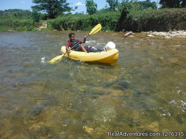 An excellent workout - Kayaking/Canyoning Adventures in the Dominican