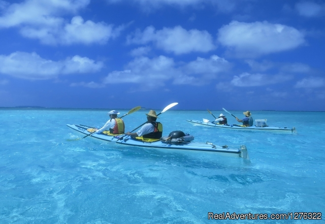 Tropical Kayak Adventures in the Kingdom of Tonga