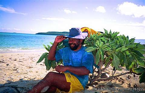 'Epeli, our Friendly Tongan Cowboy - Tropical Kayak Adventures in the Kingdom of Tonga
