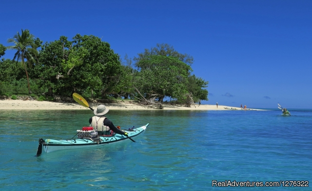 Beating Tapa Cloth - Tropical Kayak Adventures in the Kingdom of Tonga