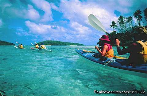 Sheltered Aqua Waterways - Tropical Kayak Adventures in the Kingdom of Tonga