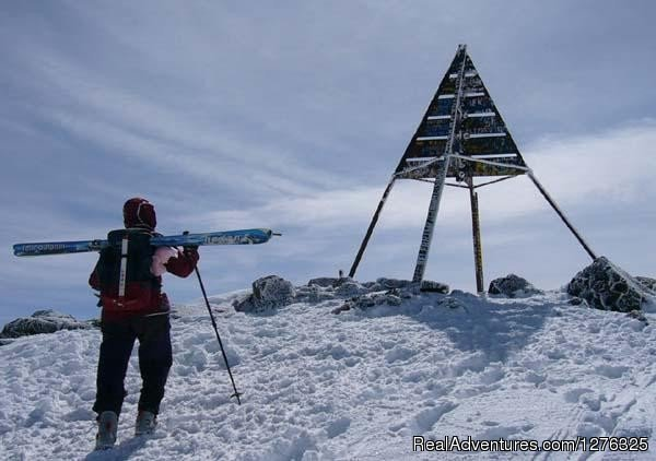 Toubkal Treks - Climb & Ascent Mount Toubkal: Mount Toubkal in Winter