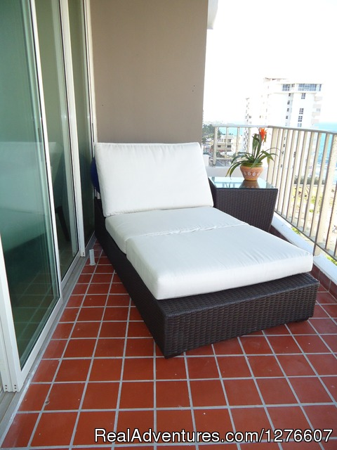 Chaise Chair - Great Location In the Hart of Condado