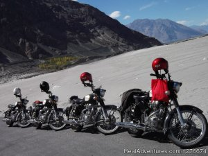 Unexplored Motorbike Tour Chandigarh, India Motorcycle Rentals
