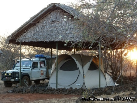 Classic Safari - Professional Safaris' Route, Lodge & Tented Camp