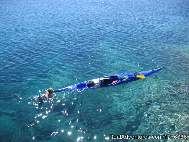 Croatia Sea Kayaking Crystal clear Adriatic Sea