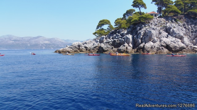 Away from the tourist crowds... (#4 of 11) - Croatia Sea Kayaking