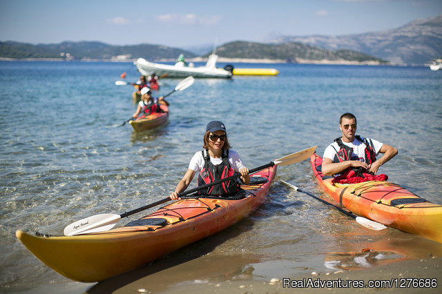 Croatia Sea Kayaking: Elaphite Islands Kayaking