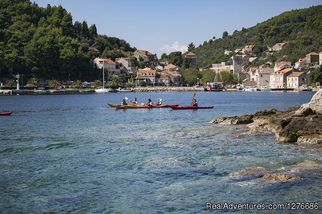 Island of Lopud - Croatia Sea Kayaking