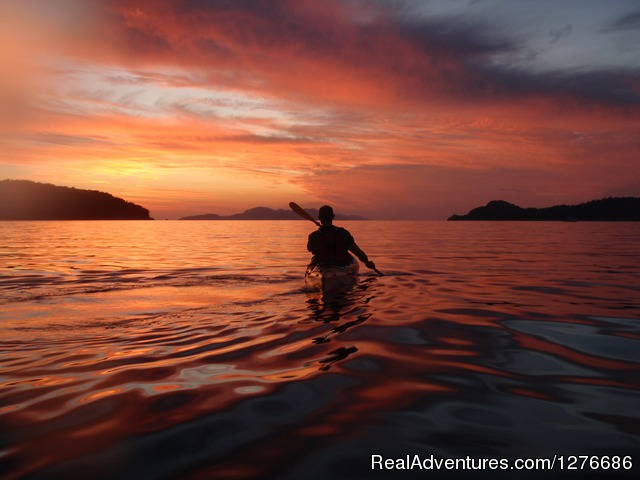 Adriatic sunset kayaking (#5 of 25) - Croatia Sea Kayaking