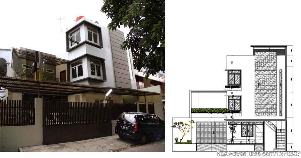cazaH, front view | Image #14/17 | Room for Rent In Central Jakarta