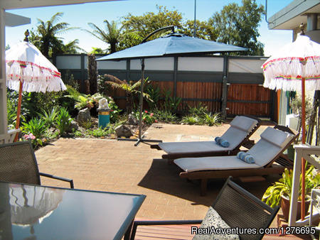 Outside area - Rotorua City Homestay B&B (3 min walk from CBD)