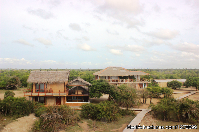 - Hotel and Eco Resort with Beach chalets