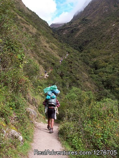 Inca Trail To Machu Picchu - Inca Trail
