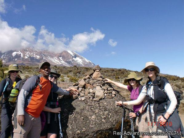 Mt kilimanjaro trekking and hiking