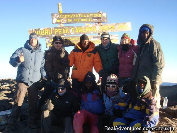 Uhuru peak - Mt kilimanjaro trekking and hiking