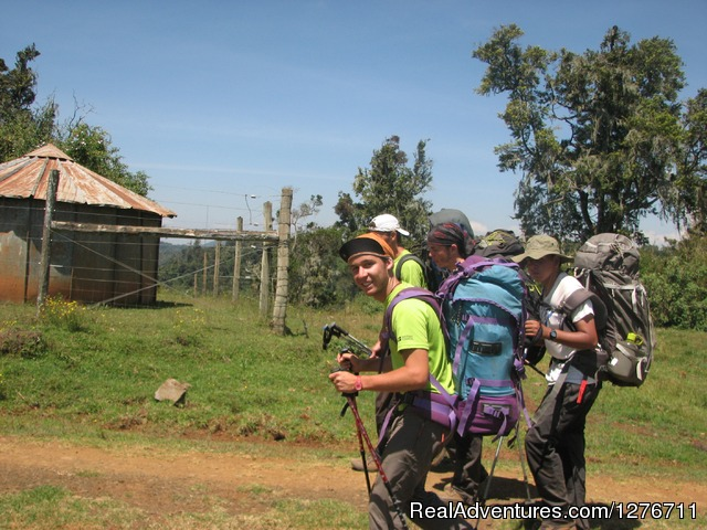 Clelebration aftre hiking - Mt kilimanjaro trekking and hiking