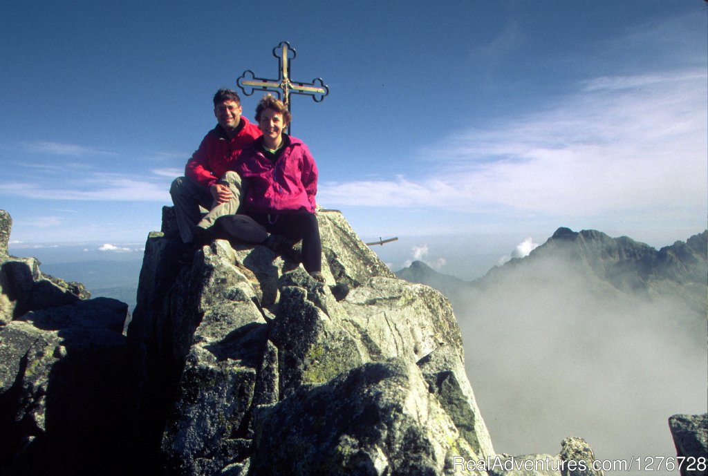 Private group(USA) on top of Slovak highest peak- Gerlach | Image #17/21 | ATYPUS ADVENTURES - european private tours
