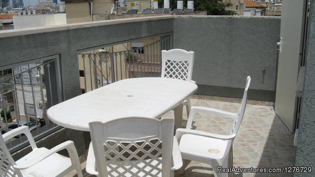 My Israeli Home- balcony - My Israeli Home