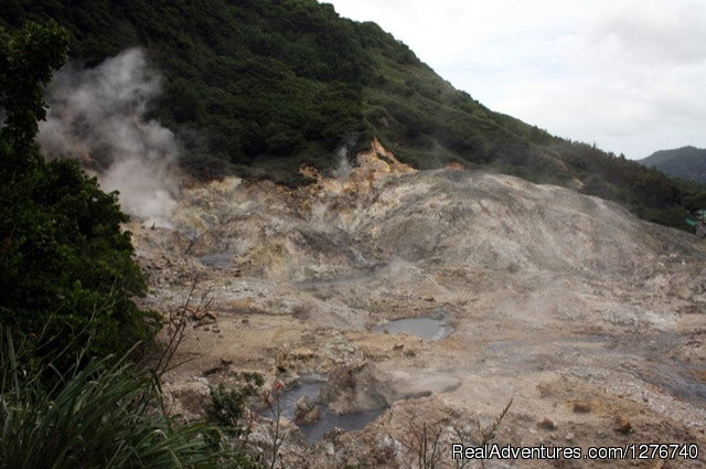 The Sulphur Springs- Volcano - Discover Soufriere St Lucia