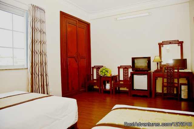 Deluxe Twin with view - Hanoi Serendipity Hotel - A great hotel in Hanoi