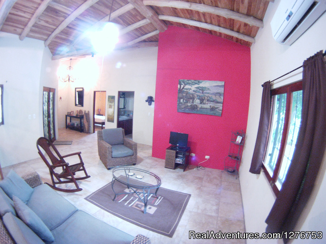 Living area - Playa Hermosa/Jaco Private Home w/pool