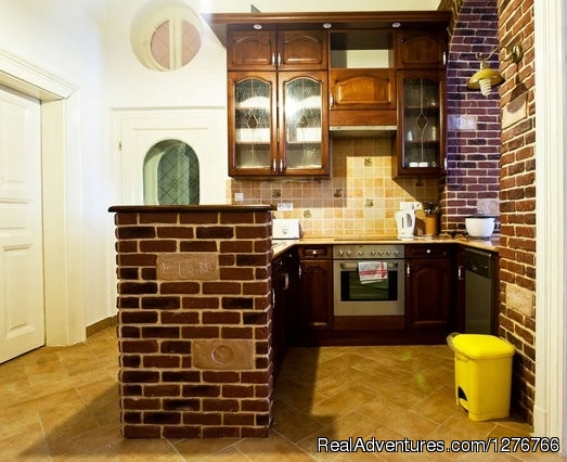 Kitchen2 - Central Apartment in Palace Quarter