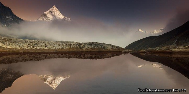 Lake view Mountain - Everest Trek Nepal..