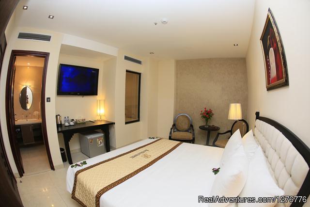 Bao Ngan Hotel in Hanoi Hotel Room