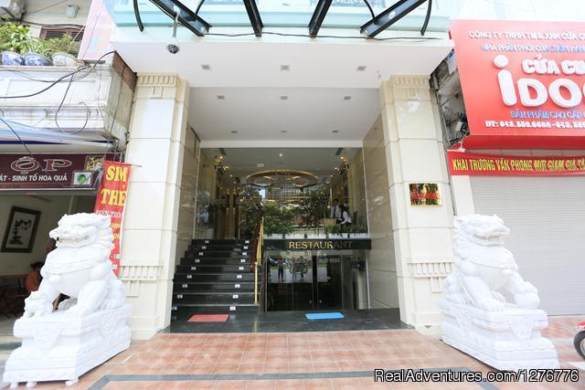 Hotel Front - Bao Ngan Hotel in Hanoi