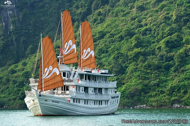 Cruise exterior - Brilliant Halong Cruises day tours