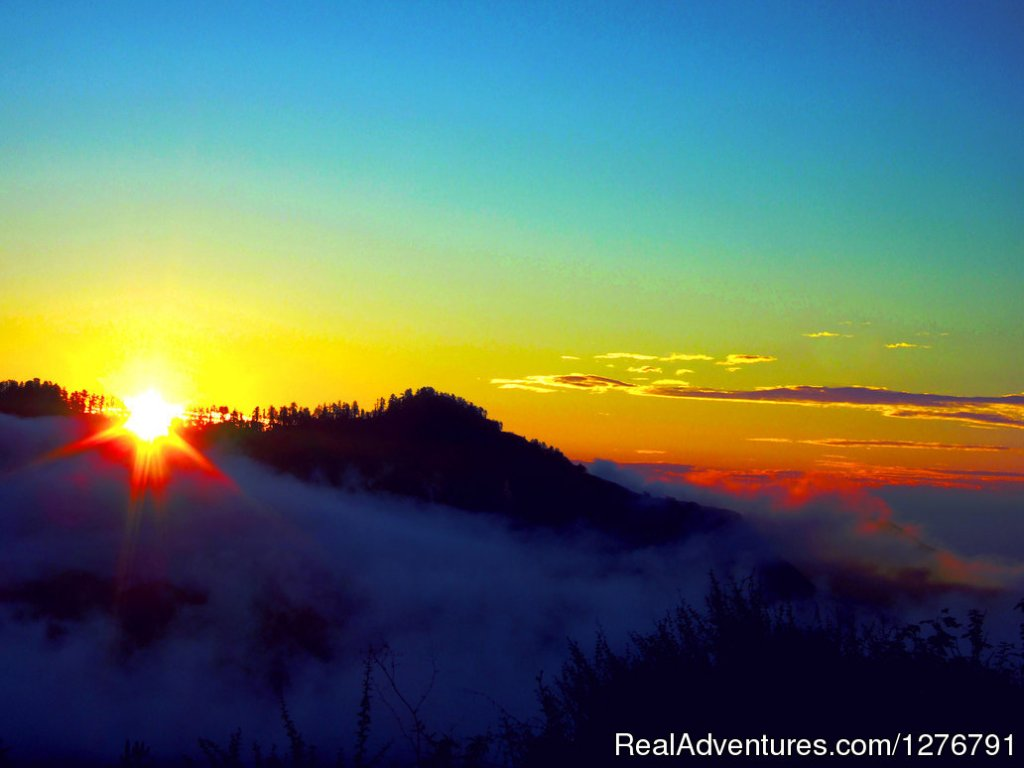 Sunrise from Poon hill | Image #1/4 | Kathmandu,Nepal, Nepal | Hiking & Trekking | Poon Hill