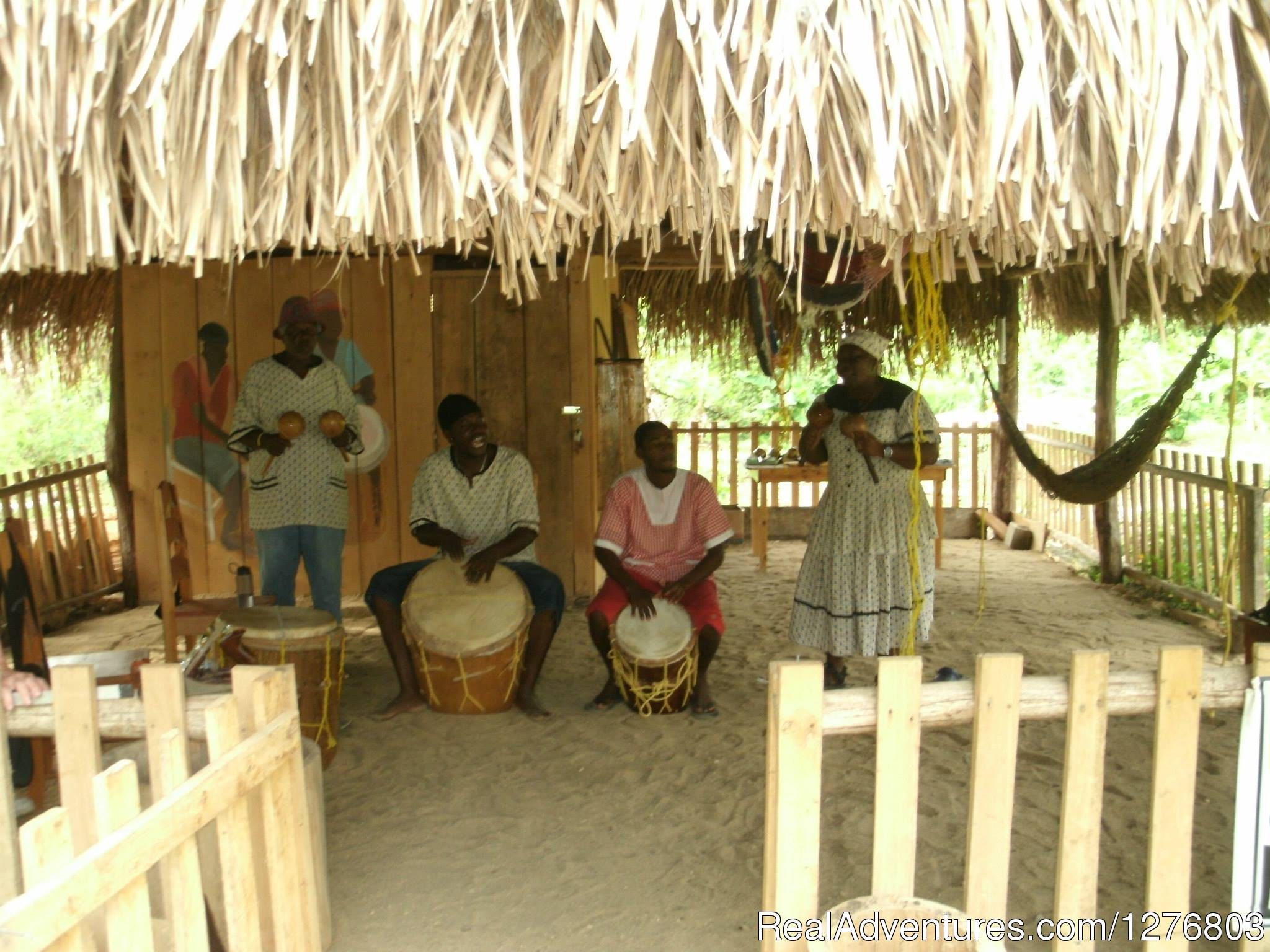 A performance the end of a half-day package | Image #5/7 | Authentic Garifuna Culture at Warasa Drum School