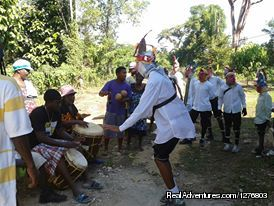 Jonkunu dancing on Christimas day | Image #6/7 | Authentic Garifuna Culture at Warasa Drum School