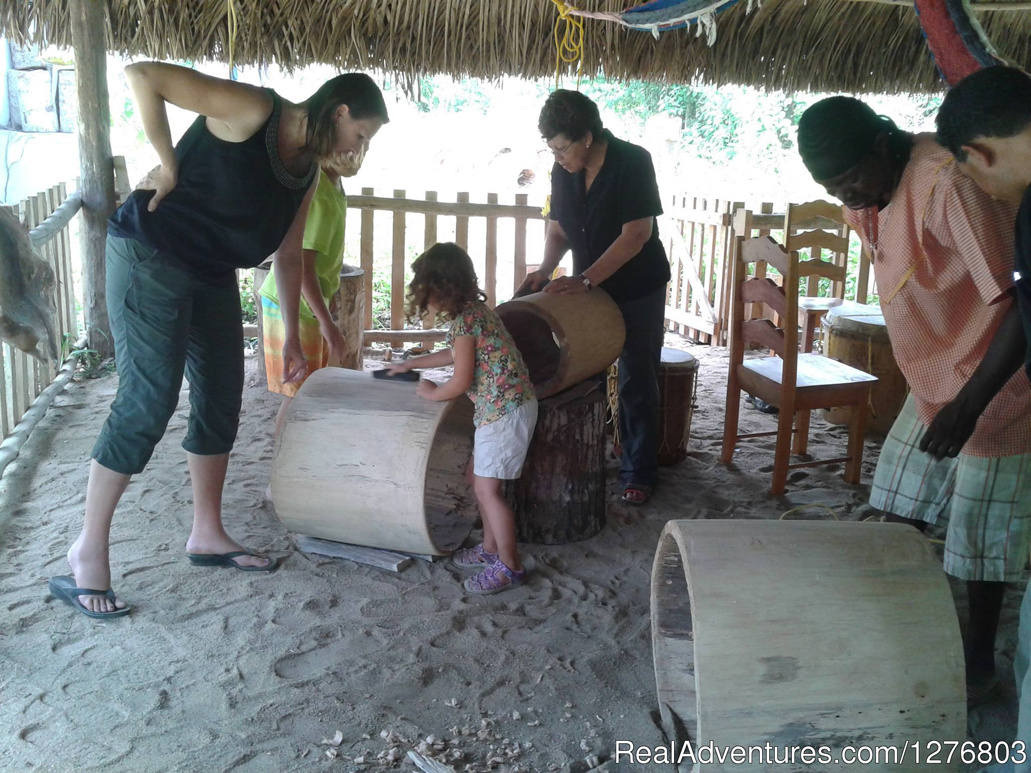 Family fun | Image #7/7 | Authentic Garifuna Culture at Warasa Drum School