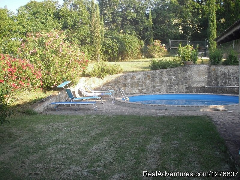 Seasonal Pool | Image #3/7 | Old stonehouse with pool in the heart of Italy