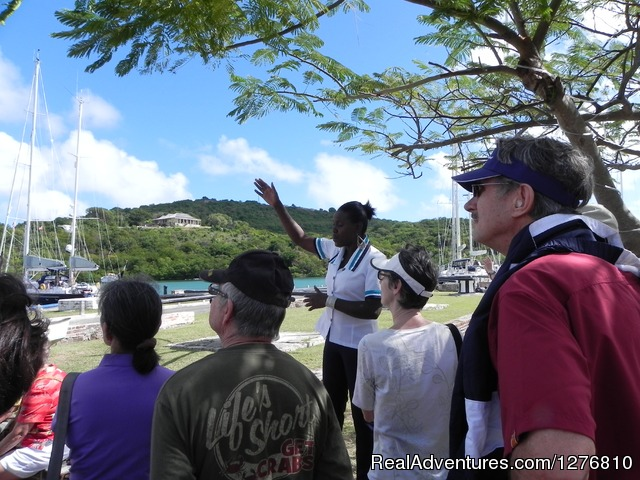Guided Tours Around Antigua by Amphoebean Trails