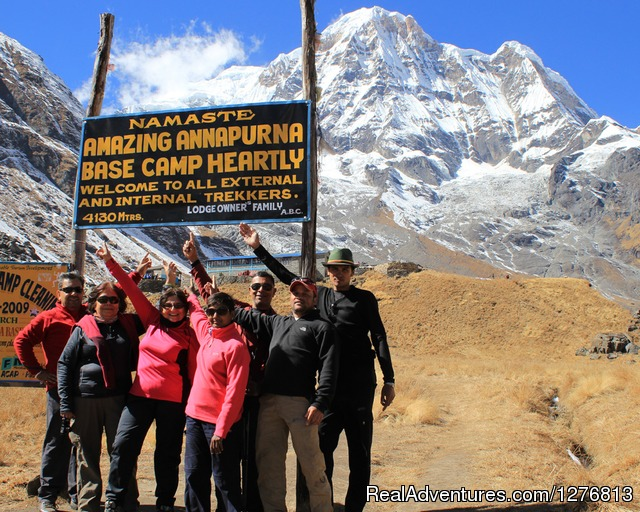 Annapurna base camp trek: Annapurna base camp