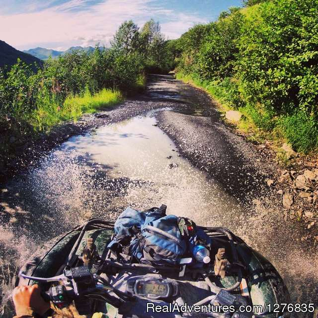 ATVing in Alaska - Best Denali View ATV & Snowmobile Tours in Alaska