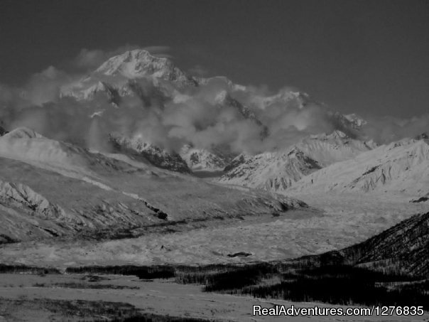 Mt McKinley and the Tokositna Glacier (#7 of 17) - Best Denali View ATV & Snowmobile Tours in Alaska