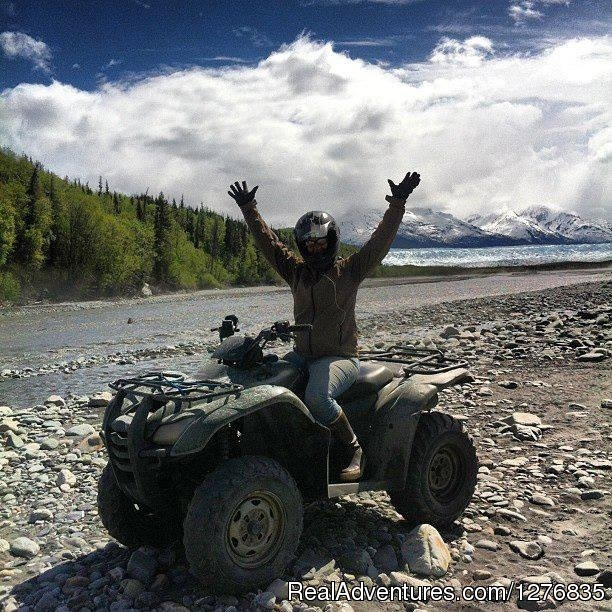 The time of your life - Best Denali View ATV & Snowmobile Tours in Alaska