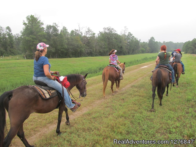 Join us women and sometimes our older kids: (#7 of 14) - Horseback riding/lessons on beautiful Spring Creek