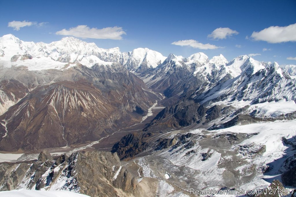 Massif glacier view from Tsherkhuri view point in Langtang | Image #3/6 | Nepal Trekking & Tour Agency