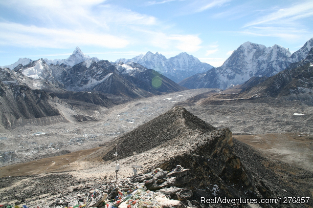 Nepal Trekking & Tour Agency: View from Kala Patthar view point in Everest region