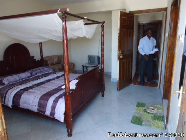 Furnished Apartment bedroom - Vacation Rental Apartment and Hotel. Kisumu,Kenya
