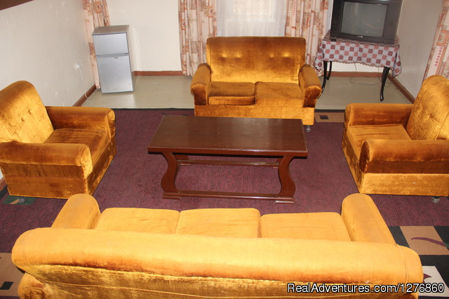 Apartments living room - Vacation Rental Apartment and Hotel. Kisumu,Kenya