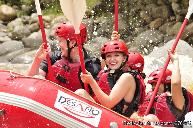 AdventureConnections  Rio Sarapiqui Jungle Run - Desafio Adventure Company Costa Rica
