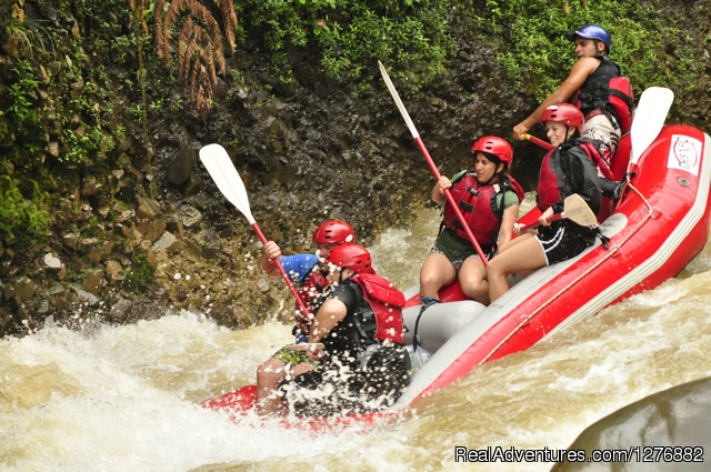 Adventure Connection Rafting on the Beautiful Rio Balsa - Desafio Adventure Company Costa Rica