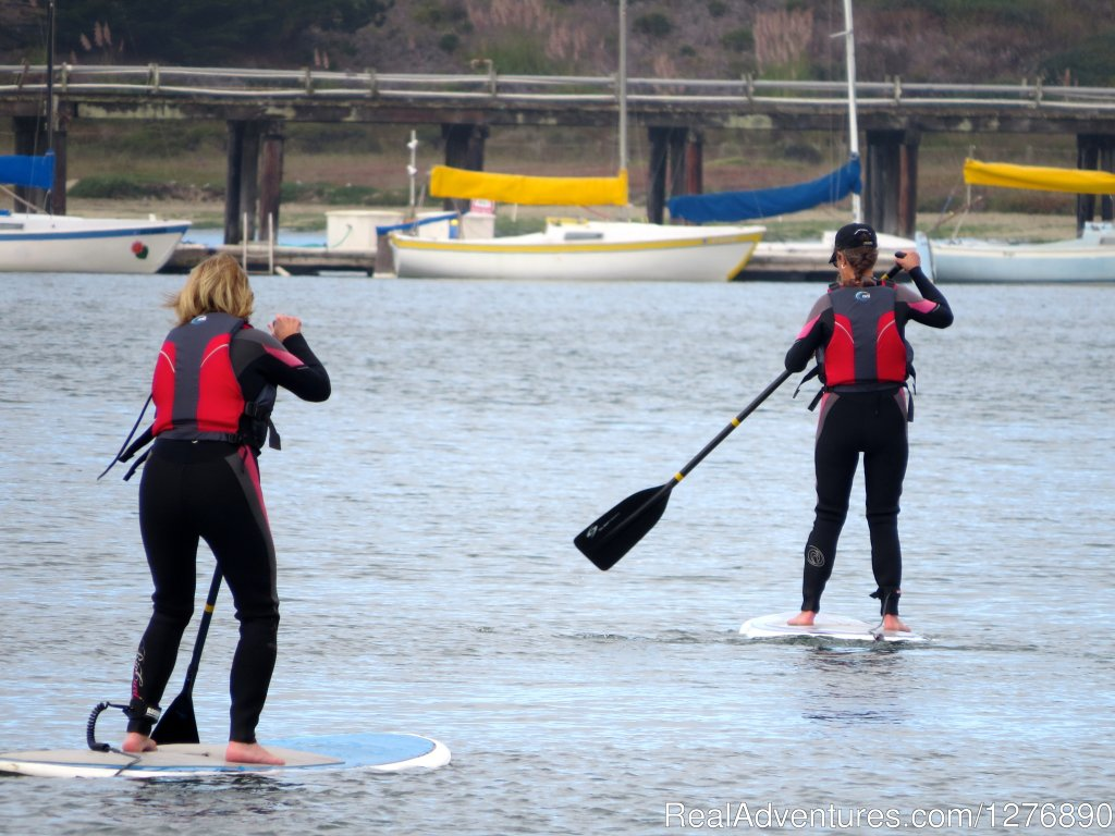 Stand Up Paddling in Princeton by the Sea | Image #8/17 | Inn to Inn Hiking to San Francisco
