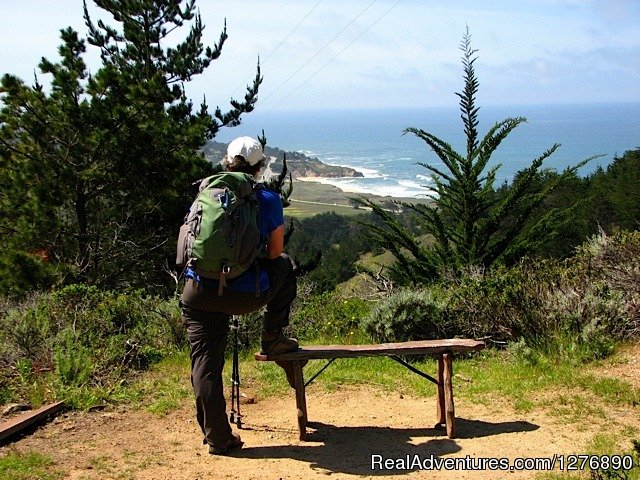 The view back to Montara Beach | Image #4/17 | Inn to Inn Hiking to San Francisco